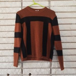 Asos black and brown sweater size 4